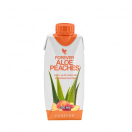 Forever Aloe Peaches 330 Ml - Pack X 12 Buc.